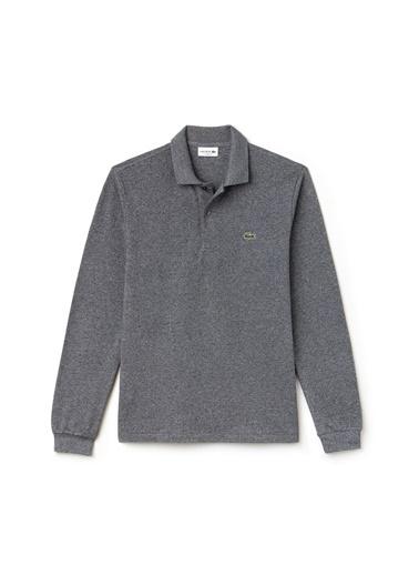 Lacoste Erkek Klasik Fit Sweatshirt L1313.SXY Gri